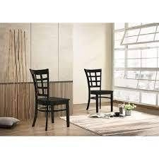 The Simple living Sienna Dining Chairs SET OF 2