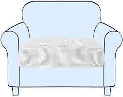Subrtex Stretch Arm Chair Cushion Cover
