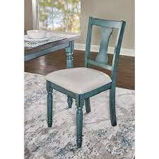 Willow Modern Farmhouse Dining Chairs SET OF 2  INCOMPlETE ITEM