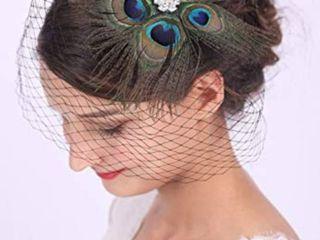 Bridal Feather Hairclip