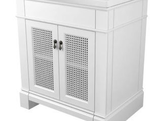 American Standard Portsmouth 30  Vanity Base Only  Retail 866 49