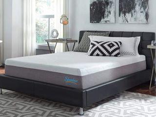 Slumber Solutions 12 inch Gel Memory Foam Choose Your Comfort Full Medium Mattress  Retail 389 99
