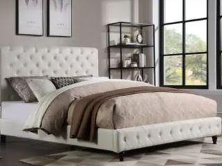 Copper Grove Santalucia Upholstered Platform Cal King Bed  Retail 506 49