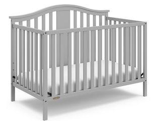 Graco Solano 4 in 1 Convertible Crib Pebble Gray