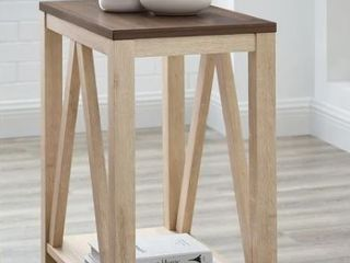 The Gray Barn Paradise Hill A Frame Side Table  Retail 118 49
