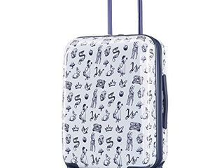 American Tourister Disney Hardside luggage with Spinner Wheels  Snow White  Carry On 21 Inch