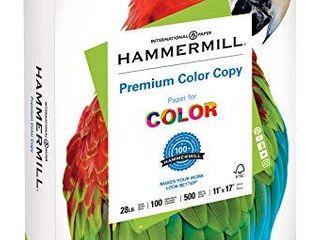 Hammermill Printer Paper  Premium Color 28 lb Copy Paper  11 x 17   1 Ream  500 Sheets