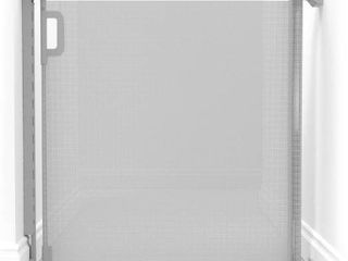 Infant Skip Hop Playview Retractable Mesh Gate  Size One Size   Grey