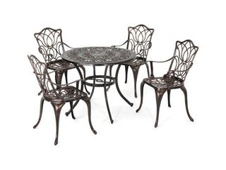 Tucson Outdoor Chairs  Set of 2  by Christopher Knight Home