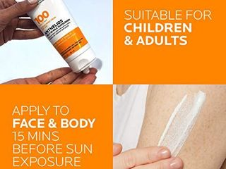 la Roche Posay Anthelios Melt in Milk Body   Face Sunscreen lotion Broad Spectrum SPF 100  Oxybenzone   Octinoxate Free  Sunscreen for Kids  Adults   Sun Sensitive Skin  Unscented  3 Fl oz