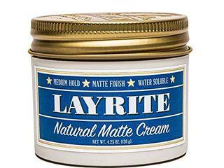 layrite Natural Matte Cream  Basic  White  Mild Cream Soda  4 25 Oz