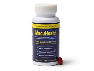 MacuHealth Eye Vitamins Supplement for Adults  90 Softgels  3 Month Supply  Eye Formula with lutein  Zeaxanthin  And Meso Zeaxanthin   Protect Against Macular Degeneration