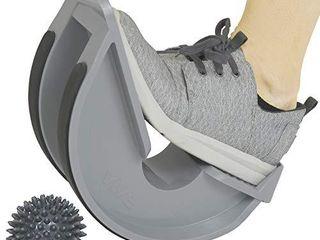 Vive Foot Rocker   Calf Stretcher for Achilles Tendinitis  Heel  Feet  Shin Splint  Plantar Fasciitis Pain Relief   Stretches Strained leg Muscle   Ankle Wedge Stretch Improves Flexibility