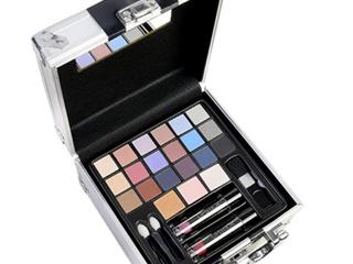 27 Piece Makeup Train Case