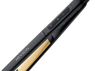 REVlON Perfect Straight Smooth Brilliance Ceramic Flat Iron  1 inch