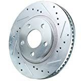 Power Stop AR85108Xl Power Stop Extreme Performance Drilled And Slotted Brake Rotors