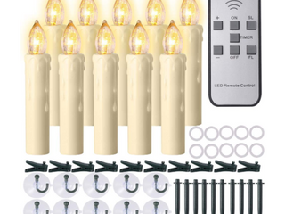 Pchero Multi Function Electronic lED Candles With Remote