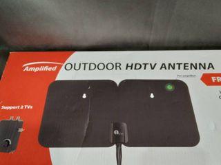 Amplified Outdoor HDTV Antenna