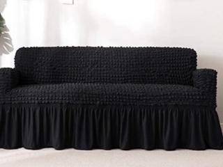 Boshen Fully Protected Sofa Cover Black