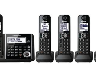 Panasonic 5 Headset Cordelss Telephones   Digital Answering Machine