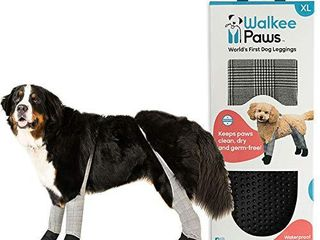 Walkee Paws Dog leggings  The Worldas First Dog leggings That are Dog Shoes  Dog Boots and Dog Socks All in One  As Seen on Shark Tank  Confetti  X Small