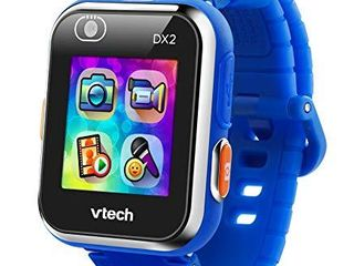 VTech KidiZoom Smartwatch DX2  Blue   Face needs to be reattached