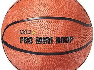 Set of 2  SKlZ Pro Mini Hoop 5 Inch Rubber Basketball