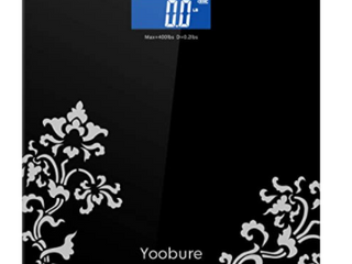 Yoobure Black Scale Max 400lbs D 0 2lbs