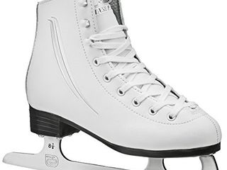 lake Placid Cascade Girls Figure Ice Skate  White  Size 3