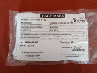 3Ply Face Mask 10 Count