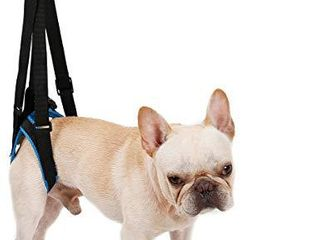 lEMON PET Dog Sling Dog lift Harness Support Rehabilitation Carry Rear legs  Dog Sling Help Hold Up Harness for Small Medium large Dogs Injuries Arthritis and Disabilities  M