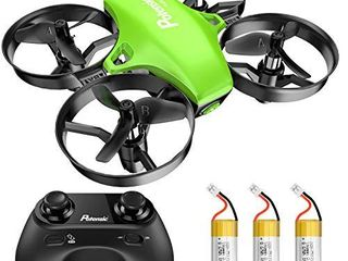 Potensic Upgraded A20 Mini Drone Easy to Fly Drone for Kids and Beginners  Indoor Outdoor RC Helicopter Quadcopter with Auto Hovering  Headless Mode  Remote Control and 3 Batteries for Boys Girls