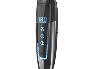 Remington MB4700 Smart Beard Trimmer with Memory Settings and Digital Touch Screen  Rechargeable for Cordless Use