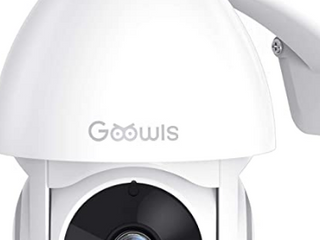 Security Camera Outdoor  Goowls 1080P Pan Tilt 2 4G WiFi Home Smart Security Surveillance IP Camera Wired with Waterproof Night Vision 2 Way Audio Motion Detection Cloud Camera Works with Alexa