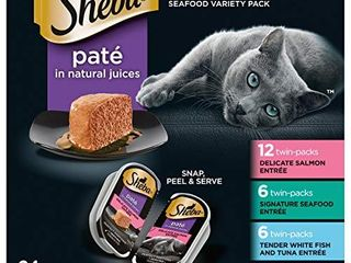 Sheba Perfect Portions Seafood  24 Twin Pack