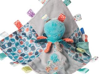 Taggies Stuffed Animal Security Blanket 13 X 13  Sleepy Seas Octopus