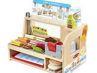 Melissa   Doug Slice   Stack Sandwich Counter
