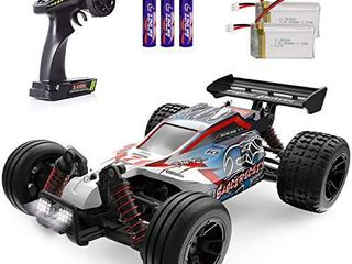 RC Cars 1 18 Scale High Speed Remote Control Car for Adults Kids Boys  25  MPH 4WD All Terrain Off Road Monster Trucks  2 4GHz Rally Buggy Toys with 2 Rechargeable Batteries for 40  Min Play