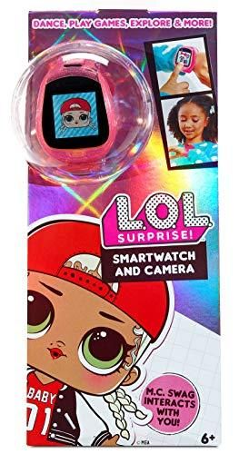 lOl Surprise Smartwatch and Camera for Kids with Video   Fun Game Activities  learning Apps  Fashionable Accessory  Fun Sound Effects  100  Expressions  and Reactions   for Kids Ages 6 Years Above