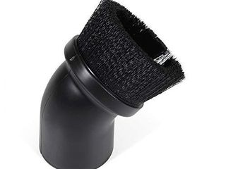 WORKSHOP Wet Dry Vacs Vacuum Accessories WS25001A Shop Vacuum Brush Attachment for 2 1 2  Wet Dry Vacuum Hose  Black