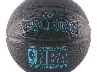 Spalding NBA Street Phantom Basketball 29 5    Neon Blue Black