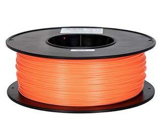 Inland 1 75mm Orange PlA 3D Printer Filament   1kg Spool  2 2 lbs