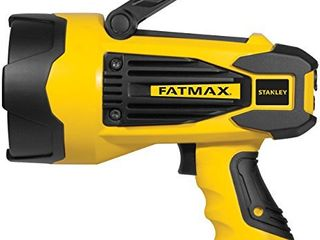 STANlEY FATMAX Sl10lEDS Rechargeable 2200 lumen lithium Ion Ultra Bright lED Spotlight Flashlight with USB Power Charger