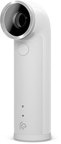 HTC RE 16 0MP Waterproof Digital Camera  White