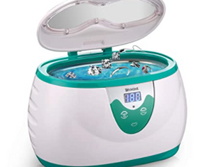 Ukoke Professional Ultrasonic Jewelry Cleaner with Timer  Portable Cleaning Machine  UUC06S