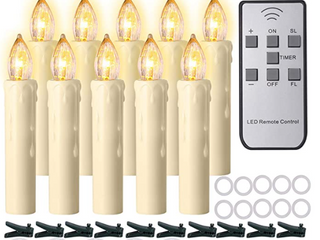MUlTI FUNCTION ElECTRONIC REMOTE CONTROl lED CANDlES