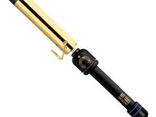 Hot Tools Signature Series Flipperless Curling Wand  1 25  Black Gold