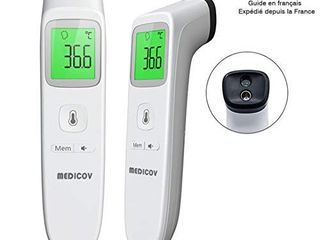 Forehead Thermometer  Digital Infrared Non Contact Temporal with Instant Accurate Reading Fever Alarm and Memory Function a Ideal for Babies  Infants  Children  Adults  Indoor  Outdoor