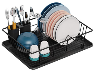 ITEM  HP06 2272  Dish Drying Rack GSlife small Dish Rack With Tray Dish Drainer