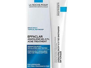 la Roche Posay Effaclar Adapalene Gel 0 1  Acne Treatment  Prescription Strength Topical Retinoid For Face  45g